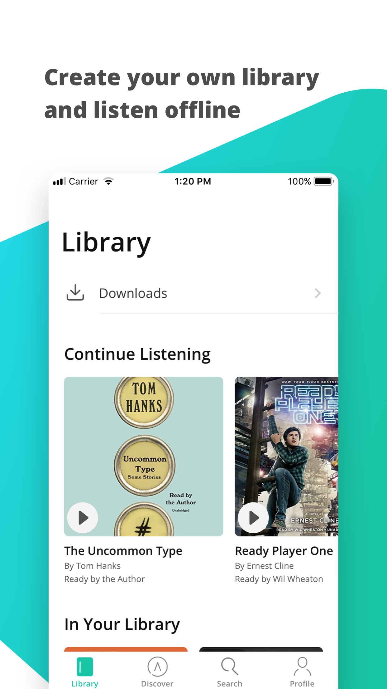 hibooks - amazing audiobooks Screenshot