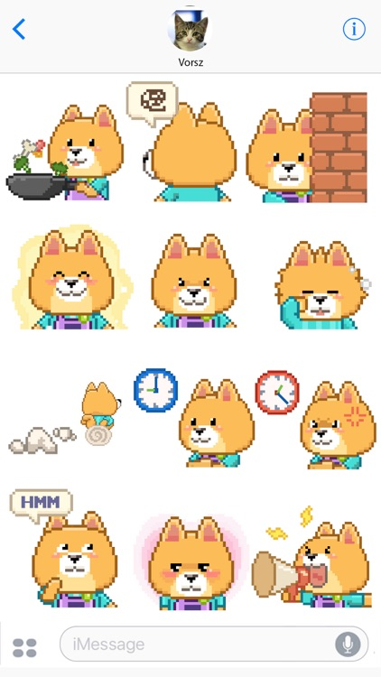 Animated Borky Stickers 2 screenshot-3