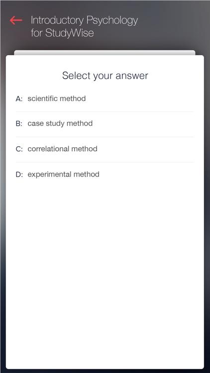 StudyWise Intro. Psychology screenshot-3