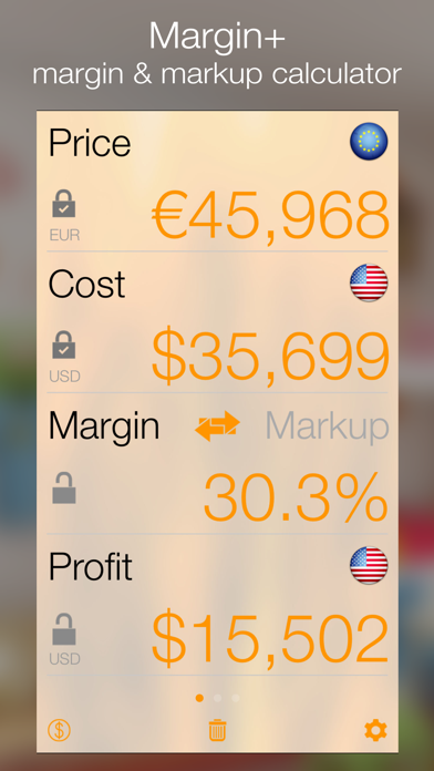 Margin review screenshots
