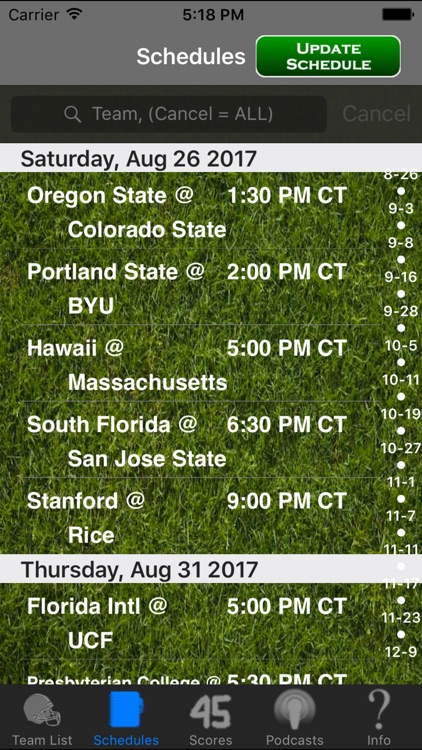 SEC Football Radio & Live Scores + Podcasts screenshot-3