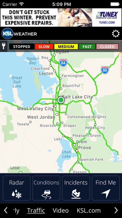 Screenshot for KSL Weather in United States App Store
