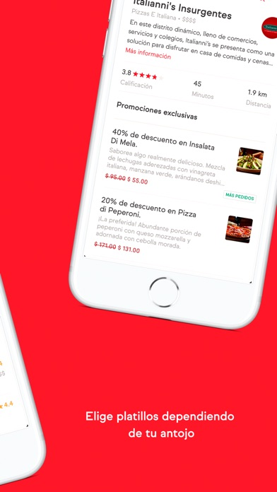 Screenshot for SinDelantal.mx in Mexico App Store