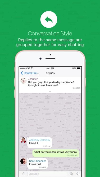 nandbox Messenger - Chat screenshot-6