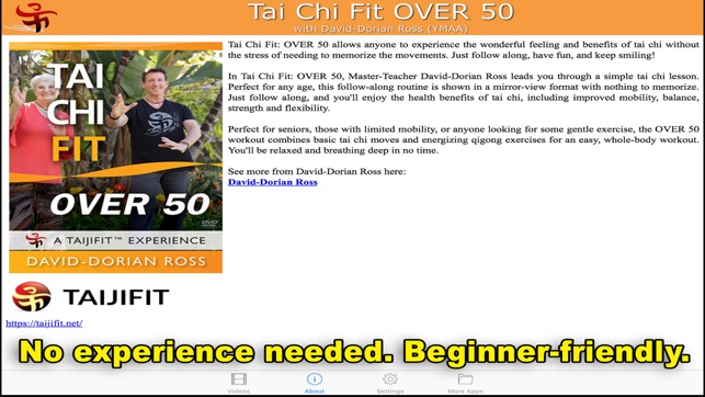 Tai Chi Fit OVER 50 on the App Store