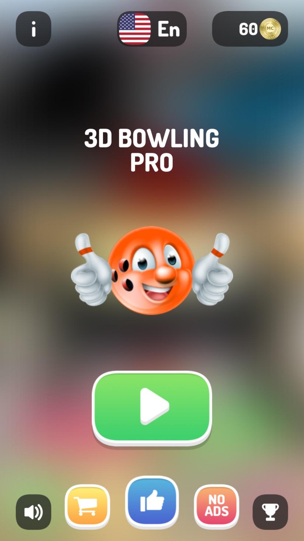 3D Bowling Pro -Ten Pin Strike