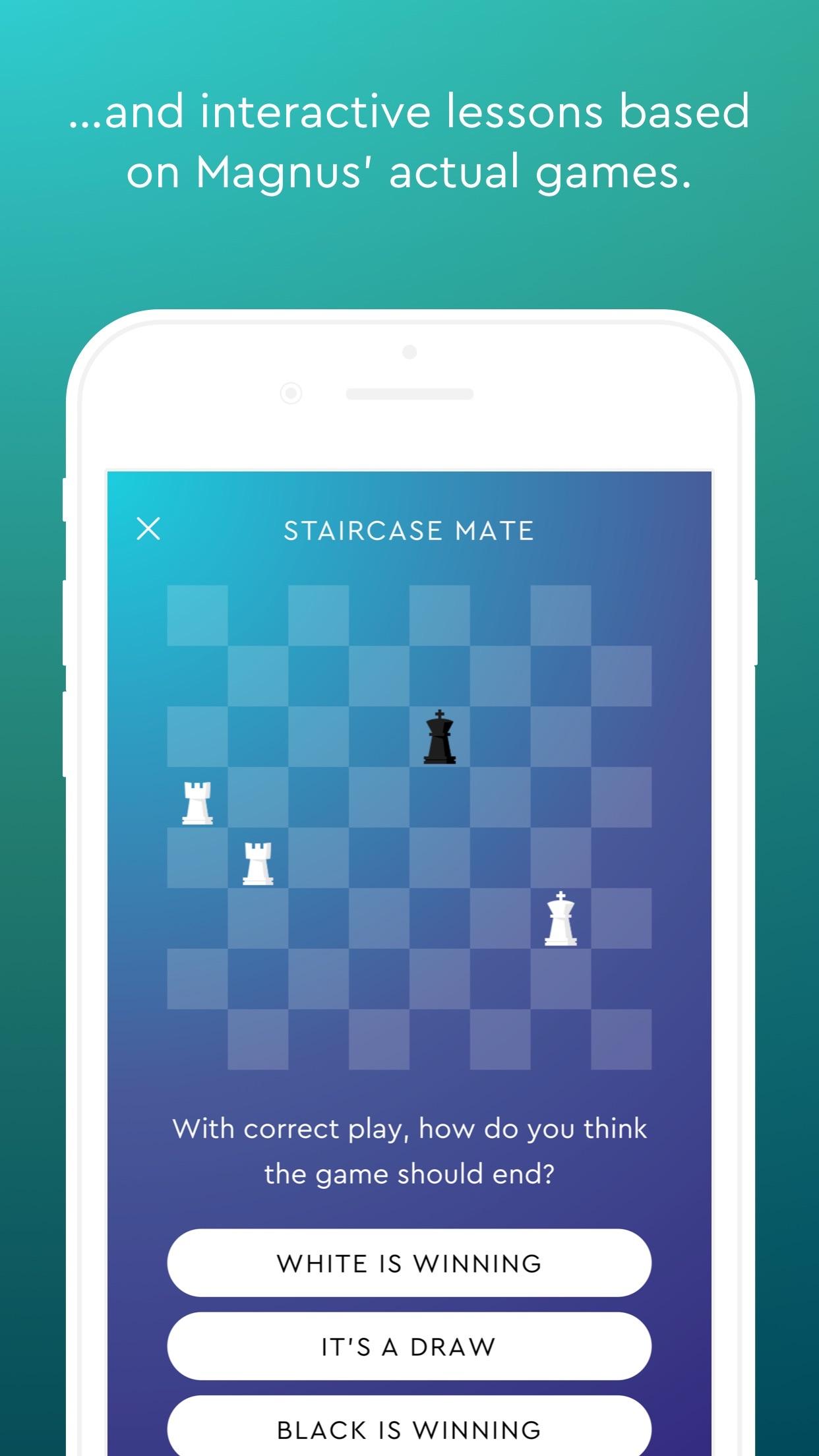 Magnus Trainer - Train Chess Screenshot