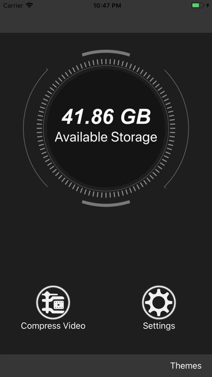 Compress Video - Clean Storage