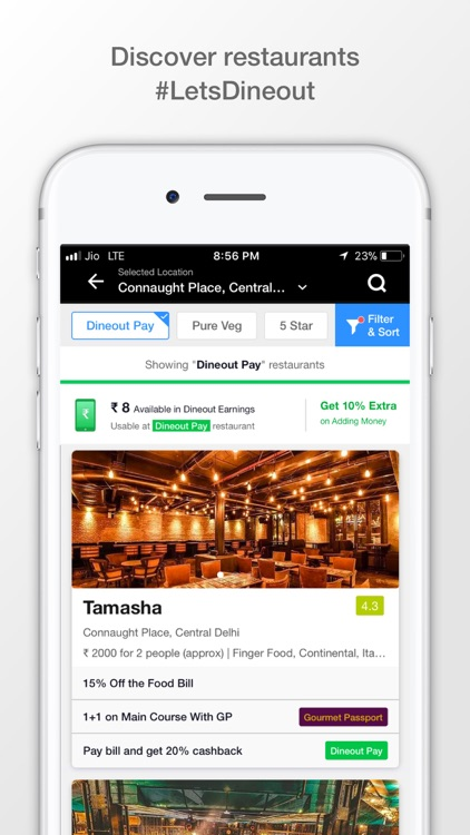 Dineout Reserve A Table By Dineout Inc - Table reserve app