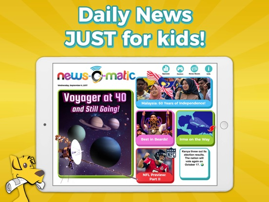 Screenshot #4 pour News-O-Matic EDU