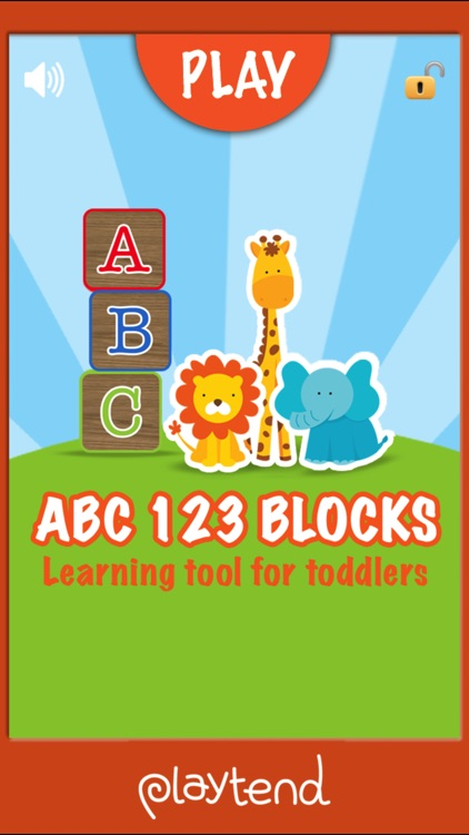 ABC 123 Blocks by Playtend