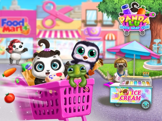 Panda Lu Baby Bear City No Ads screenshot 11