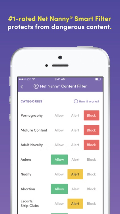 Zift | Parental Control App screenshot-4