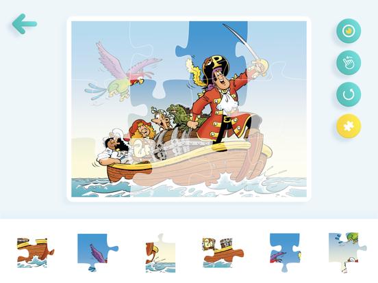 Puzzel Piet Piraat screenshot 5