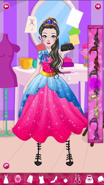 Anna Prom Night Salon: Girls Makeup, Dressup Games screenshot-4