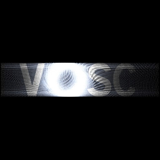 VOSC Visual Particle Synth