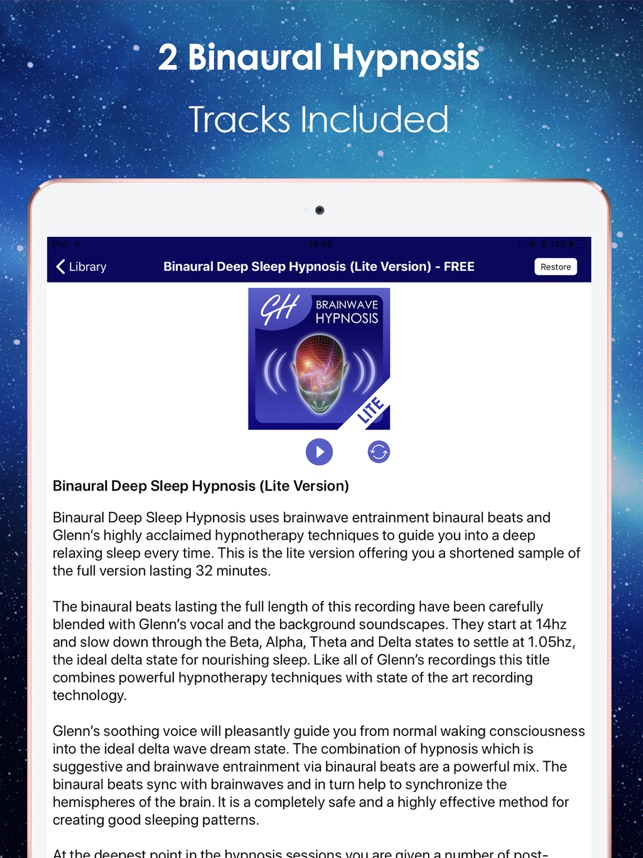Binaural Beats Hypnosis on the App Store