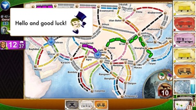 Ticket to Ride screenshot1
