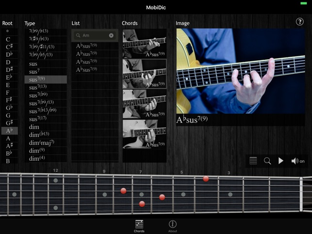 MobiDic - Guitar Chords on the App Store