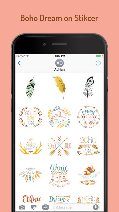Boho Dream Sticker Pack screenshot two