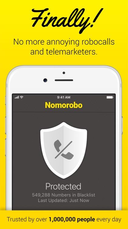 Nomorobo Robocall Blocking screenshot-0