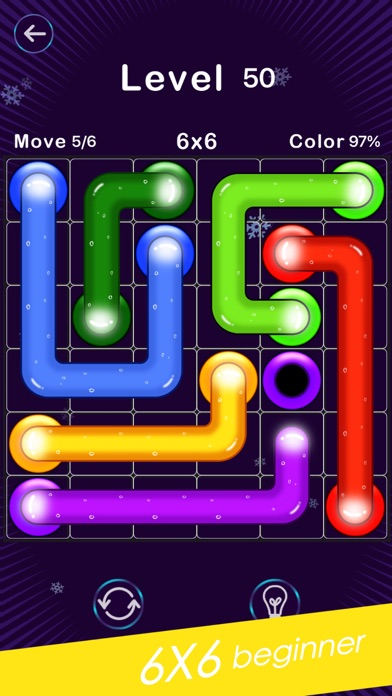 Screenshot for Color Line -Fill Block Puzzle in Netherlands App Store