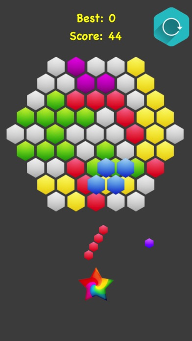 Hexagonal Merge screenshot 2