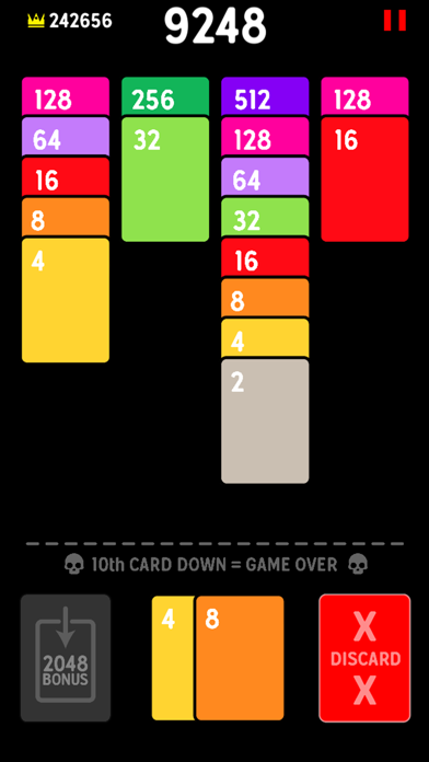 Twenty48 Solitaire screenshot 4