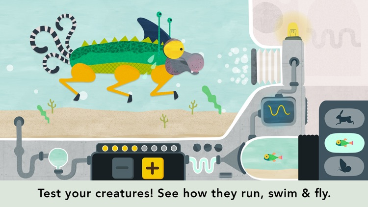 Creature Garden by Tinybop screenshot-1