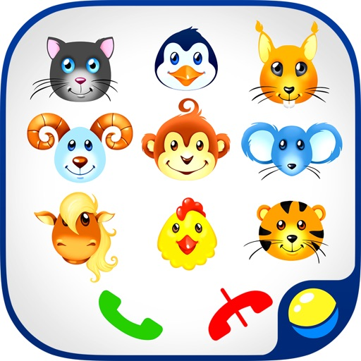 Phone Animals Numbers Games no iOS App