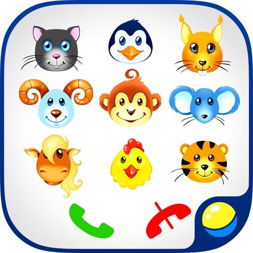 Телефон Учим Цифры Животных