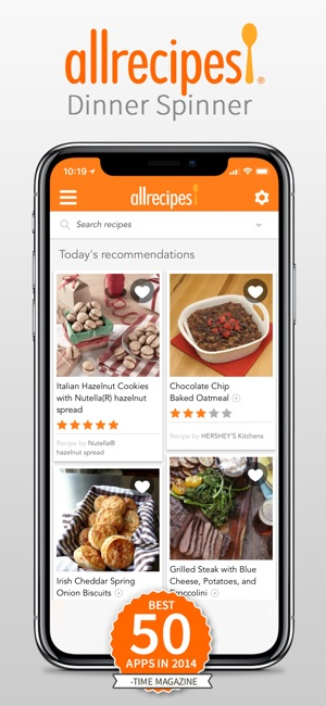 Allrecipes dinner spinner on the app store allrecipes dinner spinner on the app store forumfinder Gallery