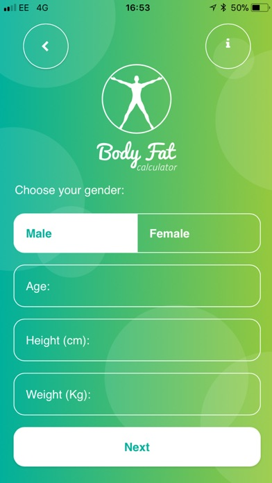 Ultimate Body Fat Calculator screenshot three