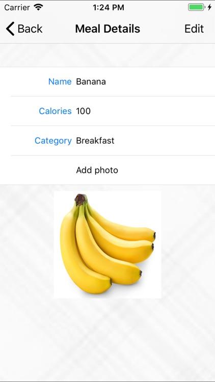 Meal Tracker Pro screenshot-4