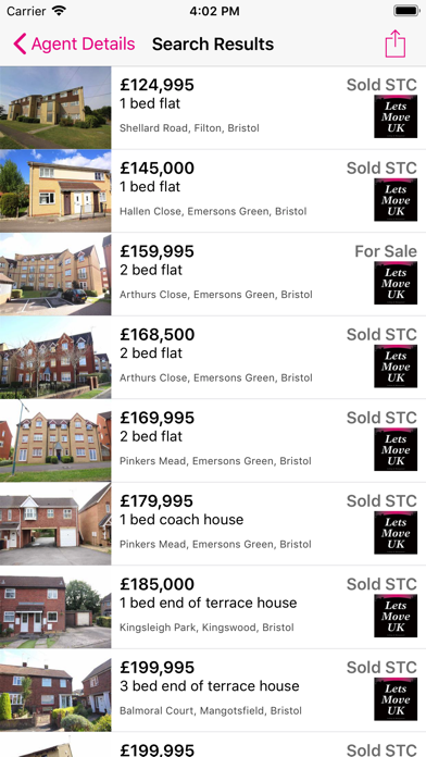 Lets Move UK Estate Agents screenshot one