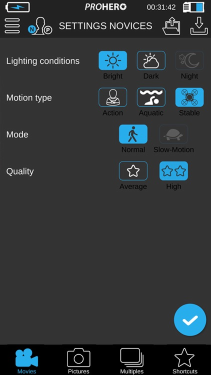 ProHero App for GoPro® Cam