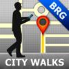 Brugge Map & Walks (F)