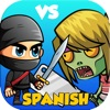 ninja vs zombies - word games