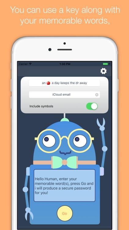 keyBot password generator screenshot-3