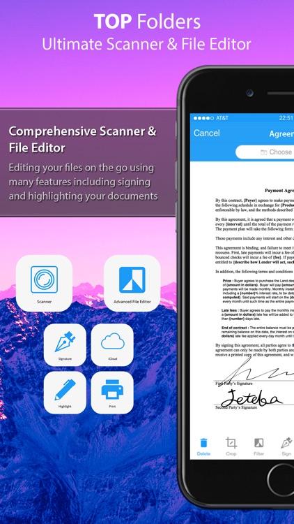 Top Folders Pro - Scanner Plus screenshot-3