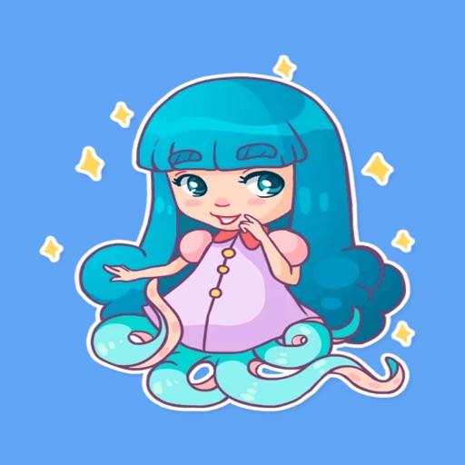 Octopus girl STiK