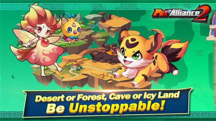 Pet Alliance 2 - Pets Battle screenshot-3