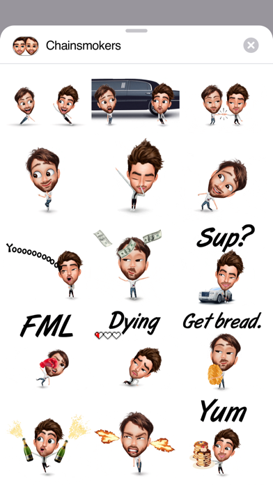 Screenshot for The Chainsmokers' Genies in Egypt App Store