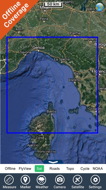 Ligurian Sea Cetacean Chart HD screenshot-4