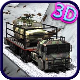 Army Cargo Truck Transport 3d