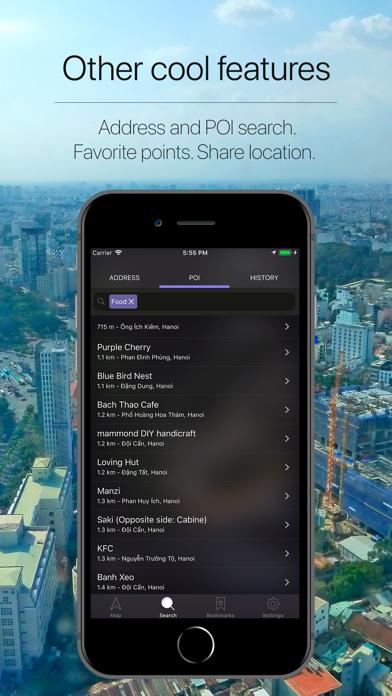 Vietnam Offline Navigation Screenshot