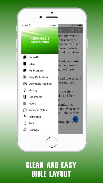 John Gill Expositions Bible screenshot-9