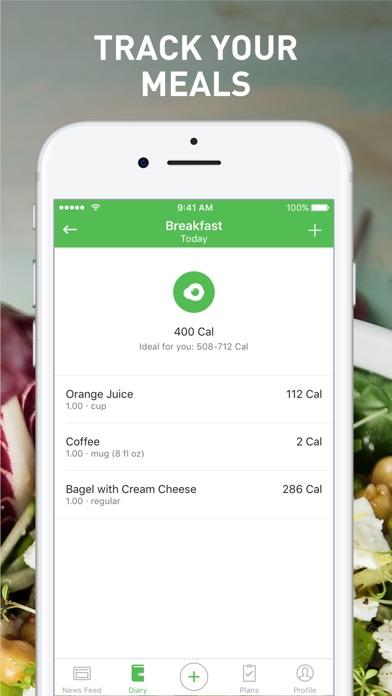 Runtastic Balance Food Tracker screenshot 3
