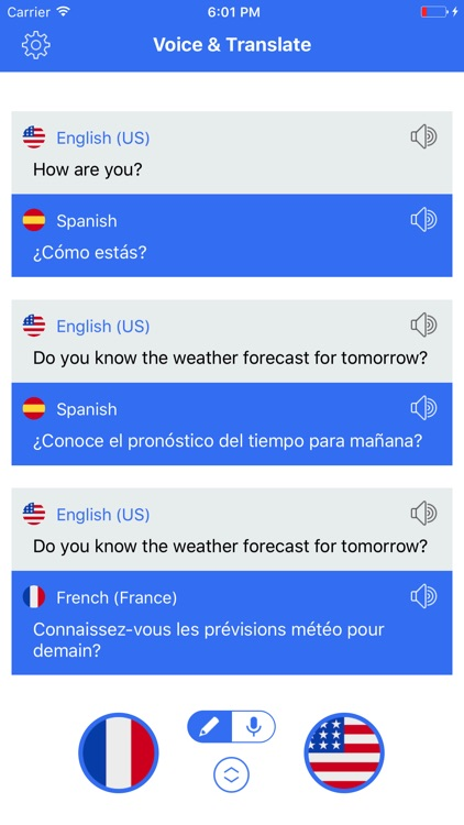 Speak Translate & Voice and Text Translator