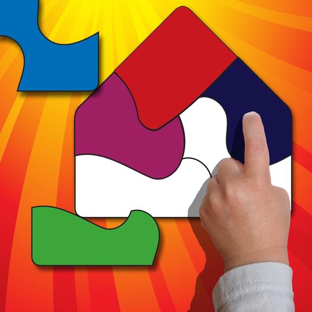 ShapeBuilder Preschool Puzzles On The App Store